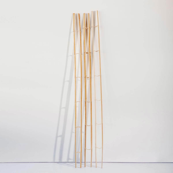 Bambus Skelett Wooden Globe