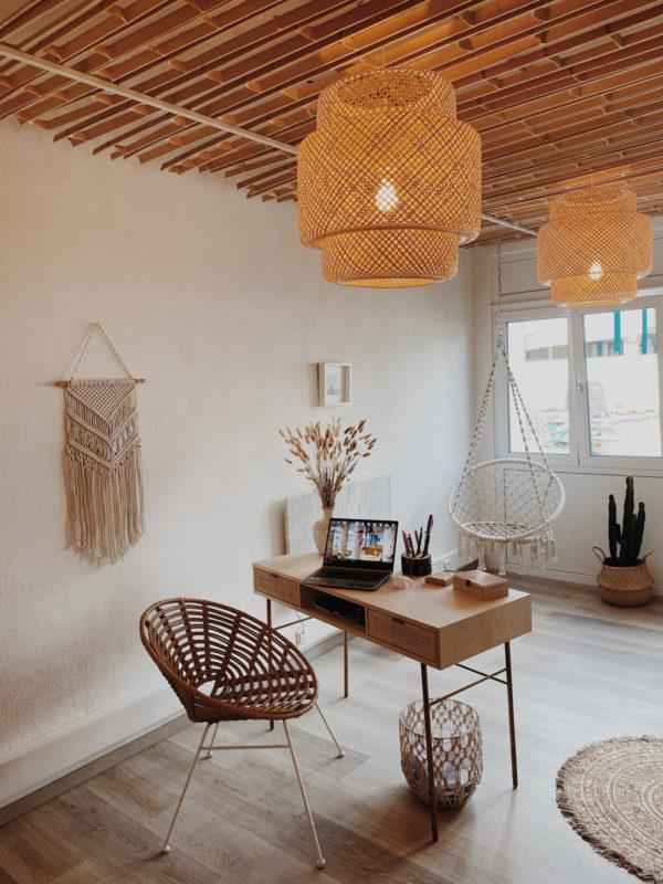 Bambus Skelett Deckenverkleidung Wooden Globe